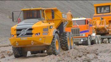 K 700 6X6 WORK EXTREME AT THE MINE! VOLVO A45G 6X6! LIEBHERR R970 SME SPECIAL