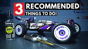 3 Recommended Things to Do on the WLTOYS 124019