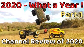 2020 – What a Year!  Channel Review Part 1. What I got up to this year. RC Car related fun
