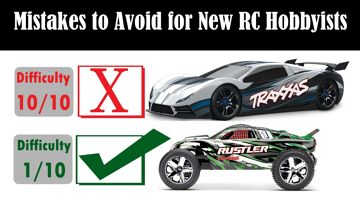 Avoid these 5 Common RC Car, Boat and Plane Mistakes