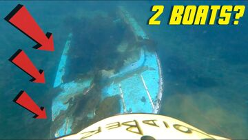 TWO BOATS Under Water?? FiFiSH V6 ROV CAMERA SUBMARINE | AVVENTURE RC