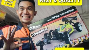 ZD Racing Off road Buggy B-10E: UNBOXING, TEST, REVIEW