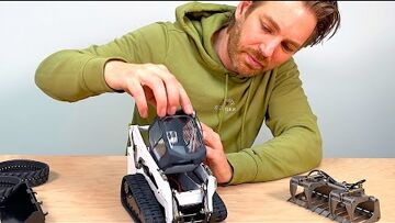 REVIEW of AMAZING RC tracked Skidsteer from LXYRC in China