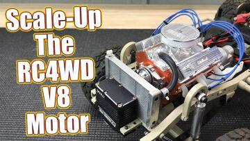 Scalin' It Up! RC4WD Edelbrock V8 Motor Dress Up Kit   RC Driver