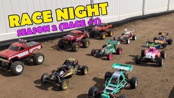 e193: RACE NIGHT (Season 2 Race #1) Vintage RC Racing