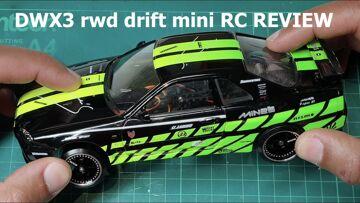 Garage RC presenteert …..DWX3 RWD DRIFT MINI RC AUTO BEOORDELING