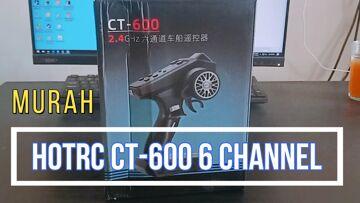 HotRC op afstand 6 Kanaal Seri CT-600 | Beoordeel Lengkap dan Cara Pengunaan | Auto | boot | tank | Rp4**rb