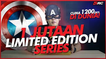 KYT TT COURSE CAPTAIN AMERICA LIMITED EDITION SERIES, Motifnya Super!!! – RC Unboxing –