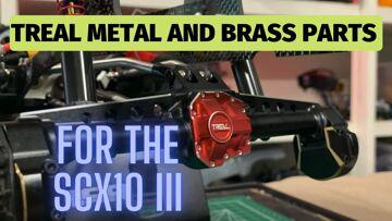 Treal Hobbies Essieu et laiton SCX10 III mises à niveau et mods