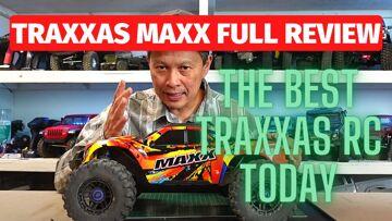 Traxxas Maxx examen – meilleur traxxas rc voiture monster truck 4s bashing 1/10 Version X-Maxx