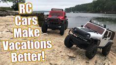 Vacation Fun! RC Car Crawling On A Rocky Beach | RC Driver