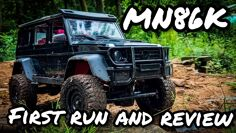 MN86K First run and Review. AWESOME new 1/12 Mercedes G-Wagon Trail Truck
