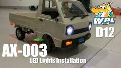 WPL D12 | AX-003 LED light installation
