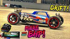 Crazy Fast ADHD RC Car Drifting Power!!! GENS ACE TEST! FPV