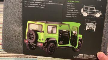 FMS 1/12 Suzuki Jimny 4WD Crawler RTR Πρώτη εμφάνιση και σύγκριση κλίμακας