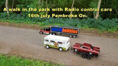 Šetnja parkom s radio kontrolnim automobilima 16. srpnja, Pembroke na.