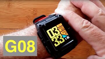 Makibes G08 Bright Full COLOR GPS IP67 Waterproof Fitness/Swimming Smartwatch: Unboxing and 1st Look