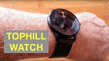 TOPHILL WATCH Hybrid 5ATM Waterproof Swiss Analog/Digital Combo Smartwatch: Unboxing and 1st Look