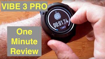 Zeblaze VIBE 3 PRO IP67 Waterproof Multi Sport Color Screen Smart Watch: One Minute Overview