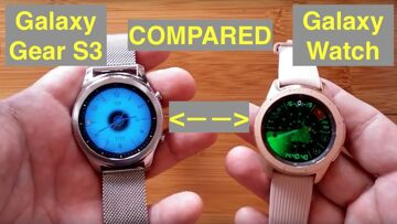 NEW Galaxy Watch vs Galaxy Gear S3 Smartwatch Quick Comparison: Is The New Model Worth The Price?
