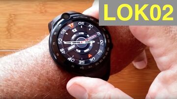 """LOKMAT LOK02 (Like Thor 4 Dual) 4G Android 7.1.1 """"Always Time"""" Smartwatch: Unboxing and 1st Look"""