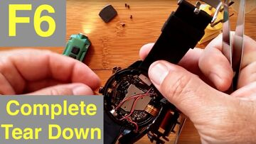 TenFifteen F6 4G Android 7.1.1 Always Time Display Smartwatch: Complete Total Tear Down!
