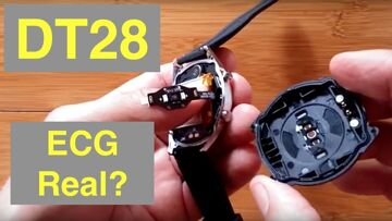 No.1 DT28 ECG+PPG Smartwatch Firmware Update ECG Measurement: Real or Simulated?