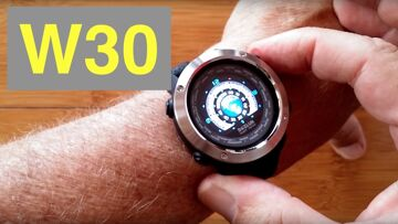 BOZGO W30 COLOR Animated Icon Display Fitness Dress Smartwatch: Unboxing and 1st Look