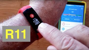 L8STAR R11 ECG+PPG Heart Wave Charting Blood Pressure Health/Fitness Wristband: Unboxing & Review