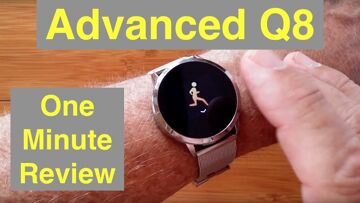 RUNDOING Advanced Q8 IP67 Period Tracker Lady's health/fitness Smartwatch: One Minute Overview