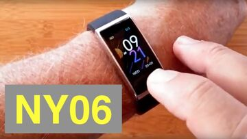 RUNDOING NY06 IP68 Waterproof Continuous Heart Rate/Blood Pressure Smartwatch: Unboxing and 1st Look