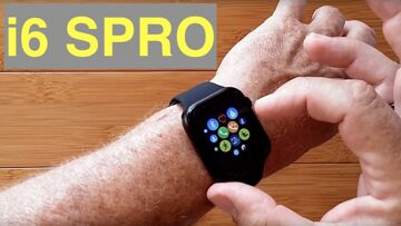 IWATCHS i6 SPRO GPS Apple Like Smartwatch Bluetooth Calling Wireless Charging: Unboxing and 1st Look