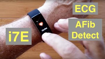 ALFAWISE i7E Atrial Fibrillation ECG IP68 Waterproof Health Fitness Band: Unboxing and 1st Look