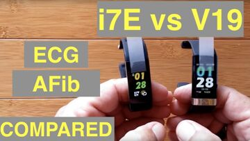 ALFAWISE i7E and BAKEEY V19 Atrial Fibrillation ECG IP68 Waterproof Sports Fitness Bands: Compared