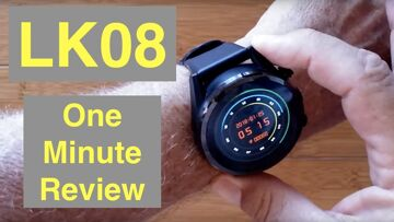 LOKMAT LK08 4G Android 7.1.1 3GB/32GB IP67 Waterproof Smartwatch: One Minute Overview
