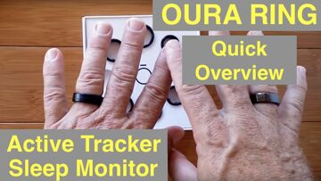 OURA RING Accurate Activity and Sleep Tracker you Wear on your Finger: Quick Overview