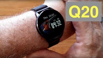 DIGOOR Q20 Big Digit IP67 Waterproof Blood Pressure Smartwatch: Unboxing and 1st Look