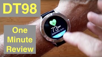 No.1 DT98 ECG+PPG IP68 Waterproof Sports/Business/Health Smartwatch: One Minute Overview