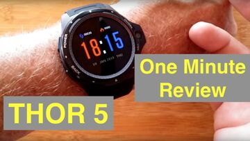 ZEBLAZE THOR 5 4G Android 7.1.1 Dual Processor Smartwatch: One Minute Review