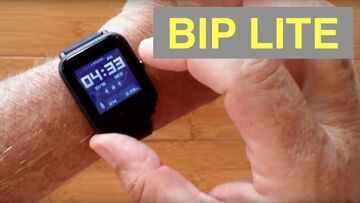 """XIAOMI HUAMI AMAZFIT BIP LITE Fitness Smartwatch """"Always On"""" Screen Missing GPS: Unboxing & 1st Look"""
