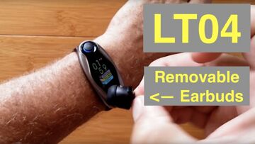 LEMFO LT04 Enhanced Health/Fitness Smart Bracelet with Stereo Earbuds: Unboxing and 1st Look