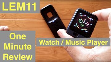LEMFO  LEM11 4G Android 7.1.1 3GB 32GB Smartwatch with Power Bank/Music Player: One Minute Overview