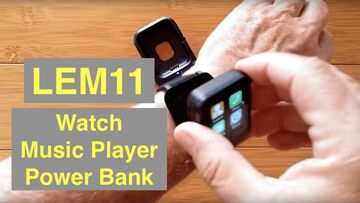 LEMFO  LEM11 4G Android 7.1.1 3GB 32GB Smartwatch with Power Bank/Music Player: Unboxing & 1st Look