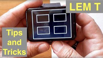 LEMFO LEM T Gamers Smartwatch 2.86 Inch Screen 2700mAh 5MP Camera 4GLTE 3G+32G: Tips & Tricks!