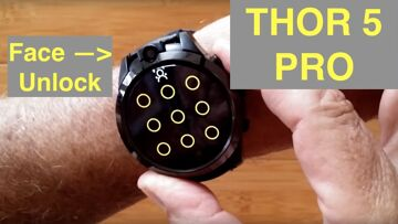 ZEBLAZE THOR 5 PRO Face Unlock Removable Bands Always On Display Smartwatch: Unboxing and 1st Look