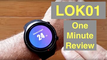 LOKMAT LOK01 4G Android 7.1.1 IP67 Smartwatch Altitude Sensor & Always Time: One Minute Overview