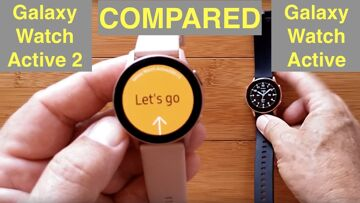 Samsung Galaxy Watch Active 2 (FitBit Competitor) Smartwatch: Unboxing & Comparison Review