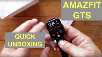 XIAOMI AMAZFIT GTS 5ATM Waterproof Sports Fitness Smartwatch: Cyber Monday Unboxing