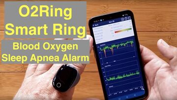 Wellue O2Ring™ Smart Ring Dynamic HR, Blood Oxygen, Sleep Apnea, Vibrate Alarm: Unboxing and Review