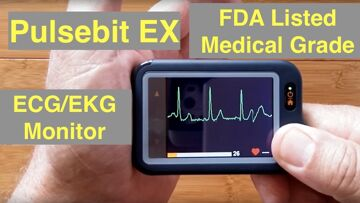 Wellue Pulsebit™EX Personal ECG/EKG Monitor with Large Display: Unboxing and Review